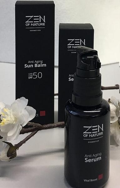 2 - teiliges Geschenkset Sun Balm + Anti Aging Serum