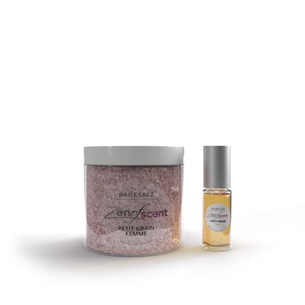 Geschenkset Badesalz + Parfum